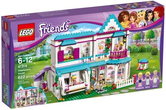 Stavebnice LEGO Stephanie a její dům