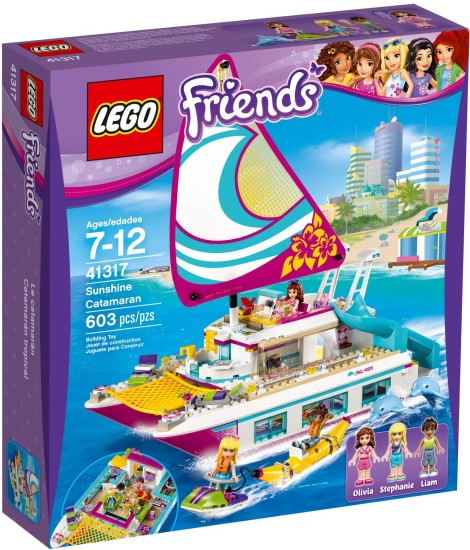 Stavebnice LEGO Katamarán Sunshine