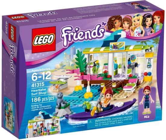 Stavebnice LEGO Surfařské potřeby v Heartlake