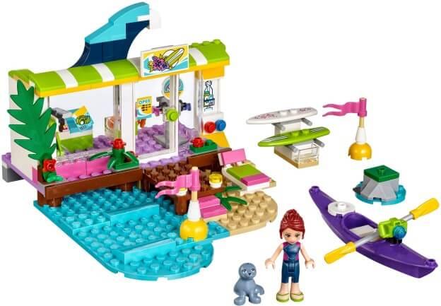 LEGO Friends 41315 Surfařské potřeby v Heartlake sestaveno