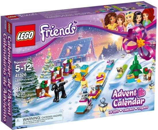 LEGO Friends Adventní kalendář 2017
