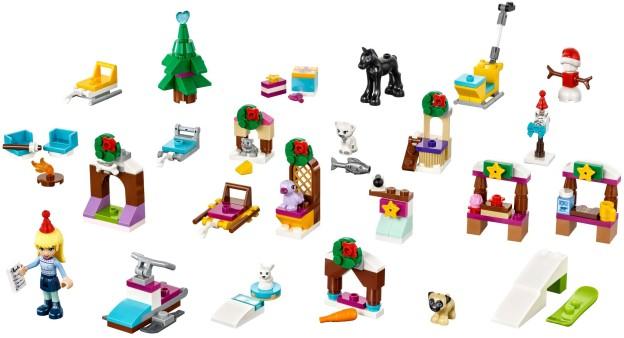 adventni kalendar lego friends LEGO Friends Adventní kalendář 2017 sestaveno | Fandíme kostičkám adventni kalendar lego friends