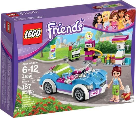 Stavebnice LEGO Miin kabriolet
