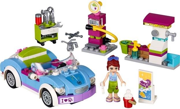LEGO Friends 41091 Miin kabriolet sestaveno