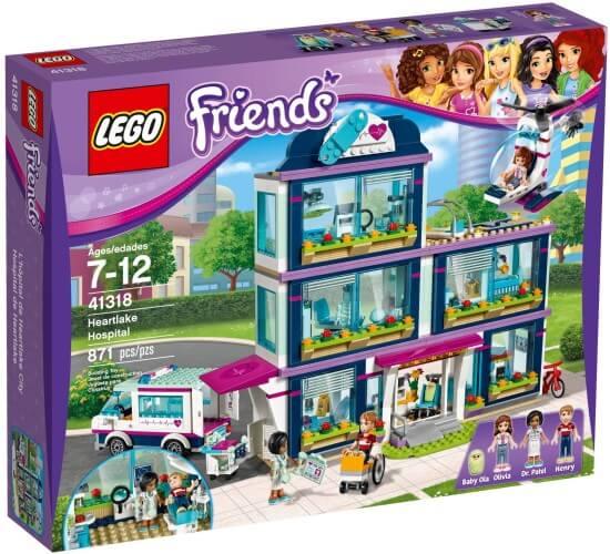 Stavebnice LEGO Nemocnice v Heartlake