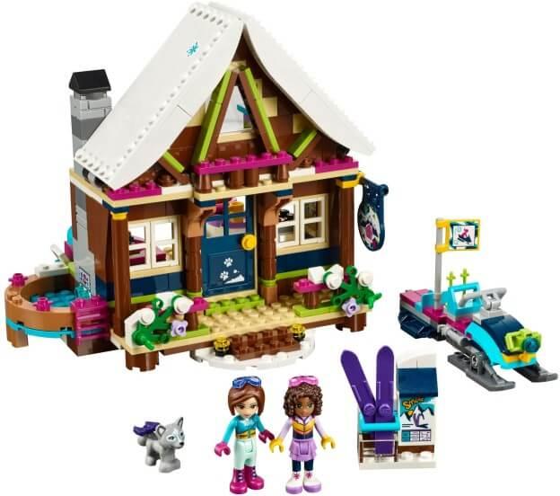 LEGO Friends 41323 Chata v zimním středisku sestaveno