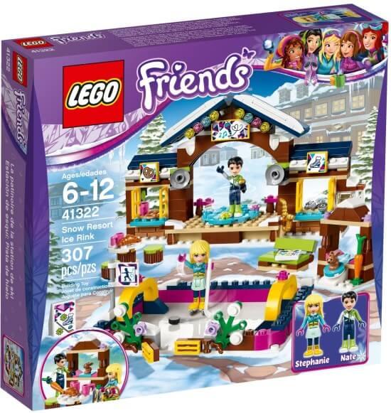 Stavebnice LEGO Kluziště v zimním středisku