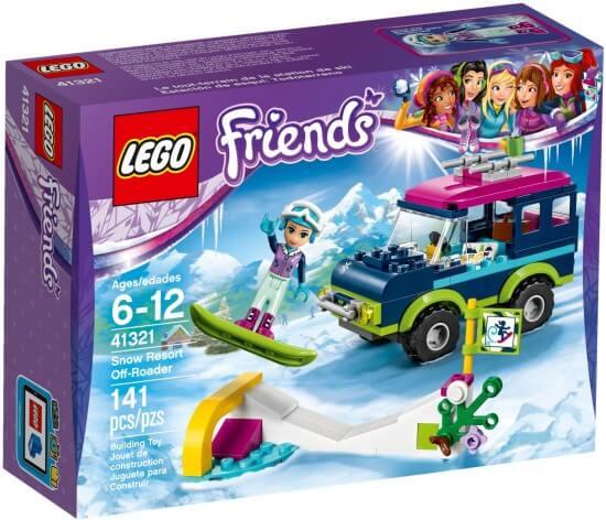 Stavebnice LEGO Terénní vůz v zimním středisku