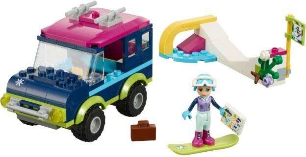 LEGO Friends 41321 Terénní vůz v zimním středisku sestaveno