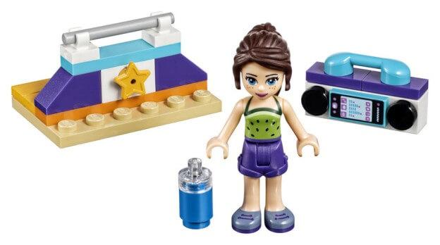 LEGO Friends 30400 Gymnastické nářadí sestaveno