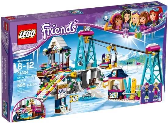 Stavebnice LEGO Lyžařský vlek v zimním středisku