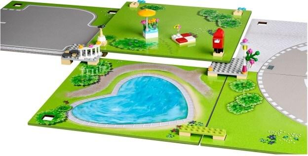 LEGO Friends 853671 Herní podložka 2.0 sestaveno