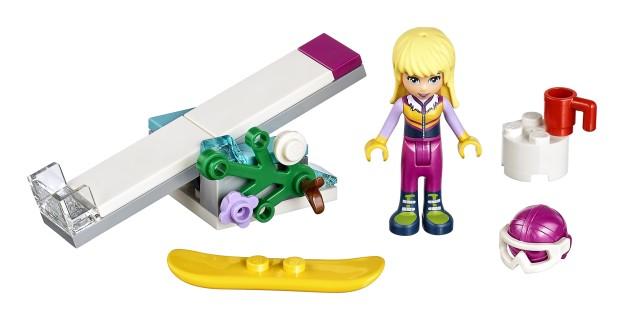 LEGO Friends 30402 Snowboardové triky sestaveno