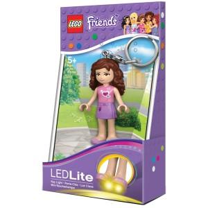 LEGO Klíčenka Olivia baterka