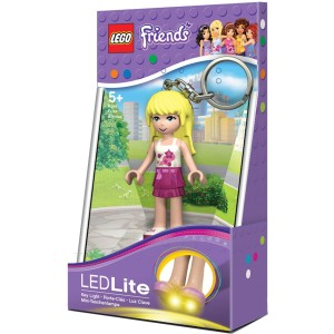 LEGO Klíčenka Stephanie baterka
