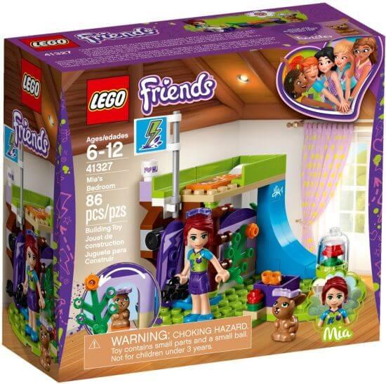 Stavebnice LEGO Mia a její pokoj