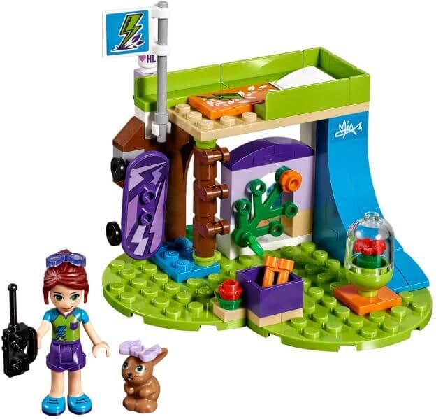LEGO Friends 41327 Mia a její pokoj sestaveno
