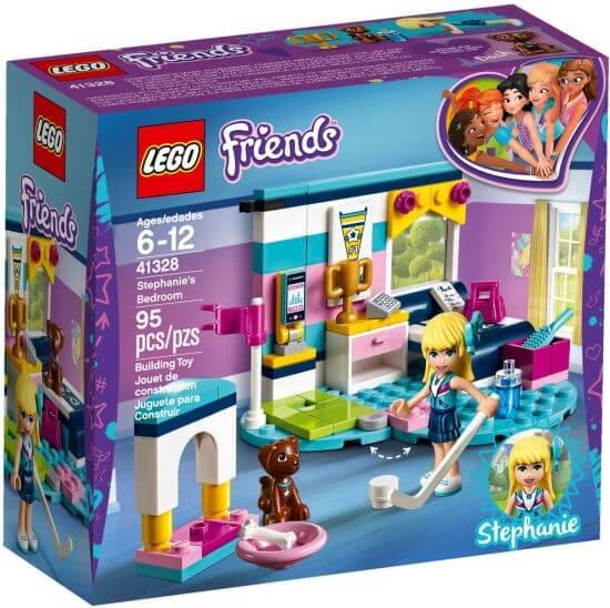 Stavebnice LEGO Stephanie a její pokoj