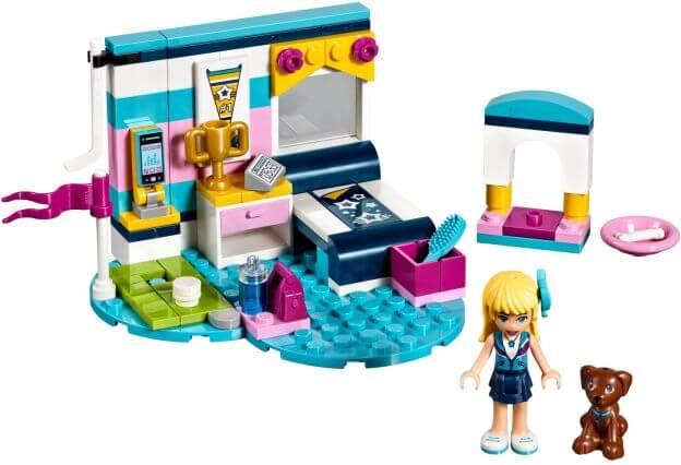 LEGO Friends 41328 Stephanie a její pokoj sestaveno