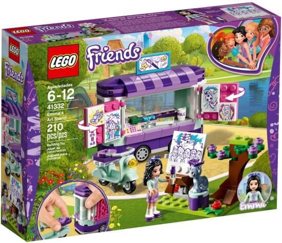 Stavebnice LEGO Emma a umělecký stojan