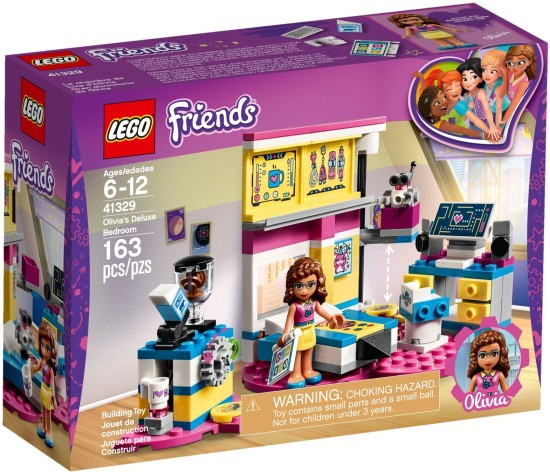 Stavebnice LEGO Olivia a její luxusní pokoj