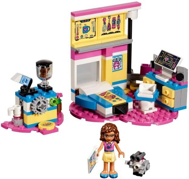 LEGO Friends 41329 Olivia a její luxusní pokoj sestaveno