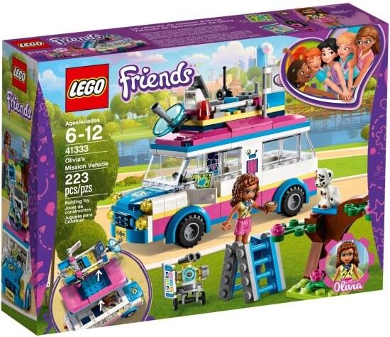 Stavebnice LEGO Olivia a její speciální vozidlo