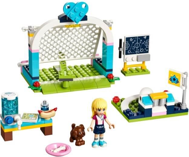 LEGO Friends 41330 Stephanie na fotbalovém tréninku sestaveno