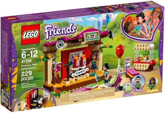 Stavebnice LEGO Andrea a její vystoupení v parku