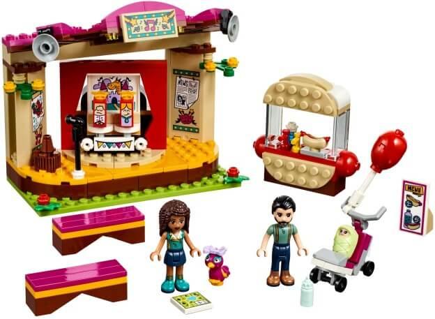 LEGO Friends 41334 Andrea a její vystoupení v parku sestaveno