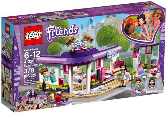 Stavebnice LEGO Emma a umělecká kavárna