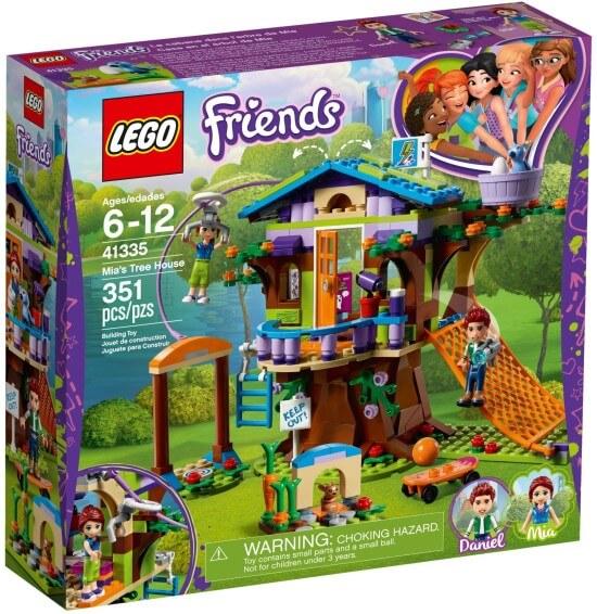 Stavebnice LEGO Mia a její domek na stromě