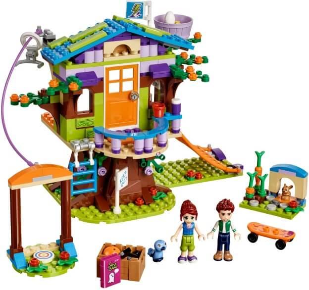 LEGO Friends 41335 Mia a její domek na stromě sestaveno