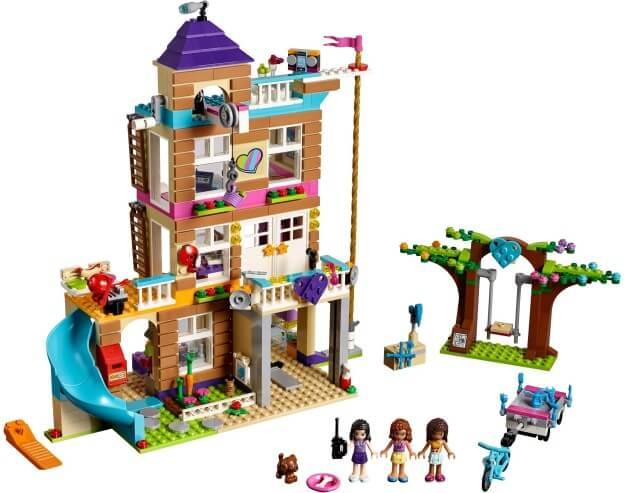 LEGO Friends 41340 Dům přátelství sestaveno