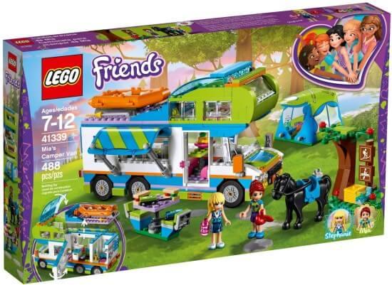 Stavebnice LEGO Mia a její karavan
