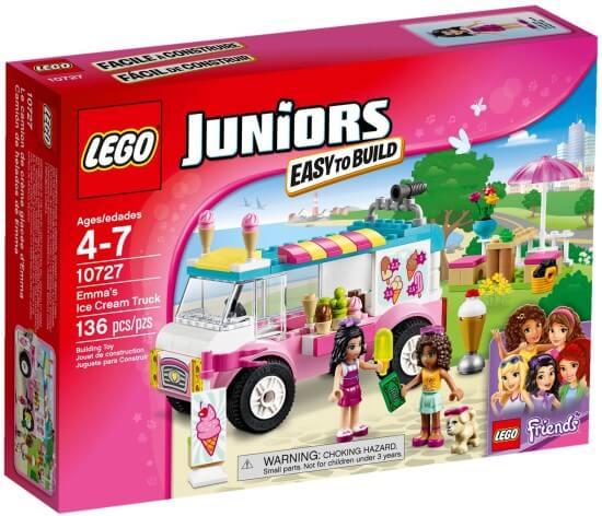 Stavebnice LEGO Emma a zmrzlinářská dodávka
