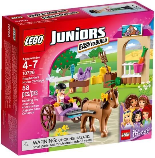 Stavebnice LEGO Stephanie a kočár s koníkem