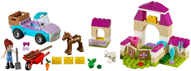 LEGO Juniors 10746 Mia a kufřík na farmu sestaveno