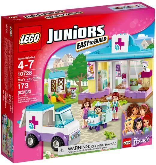 Stavebnice LEGO Mia a veterinární klinika