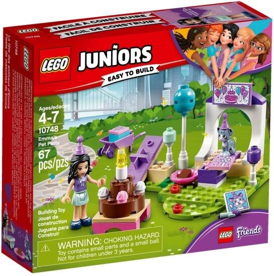 Stavebnice LEGO Emma a oslava pro mazlíčky