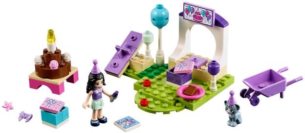 LEGO Juniors 10748 Emma a oslava pro mazlíčky sestaveno