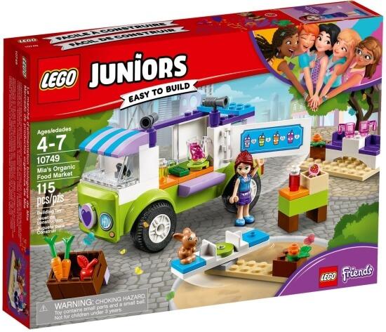 Stavebnice LEGO Mia a trh s biopotravinami