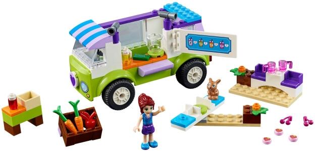 LEGO Juniors 10749 Mia a trh s biopotravinami sestaveno