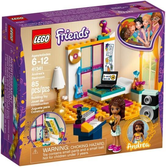 Stavebnice LEGO Andrea a její pokojíček