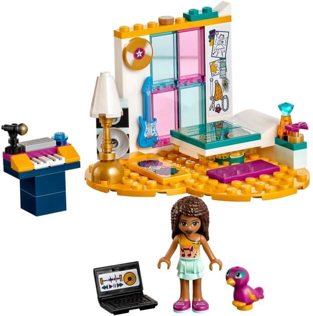 LEGO Friends 41341 Andrea a její pokojíček sestaveno