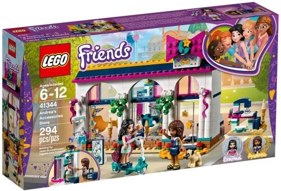 Stavebnice LEGO Andrea a její obchod s módními doplňky