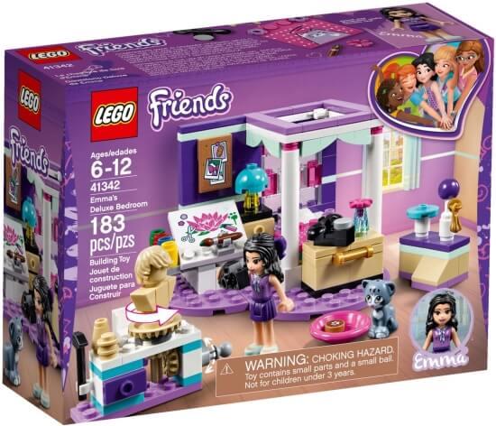 Stavebnice LEGO Ema a její luxusní pokojíček