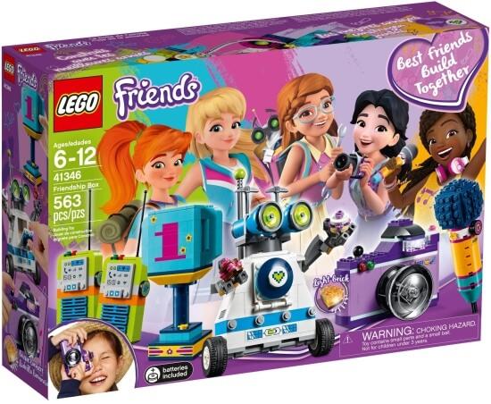 Stavebnice LEGO Krabice přátelství