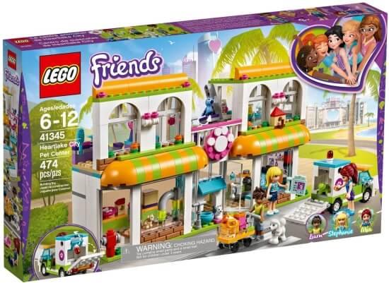 Stavebnice LEGO Obchod pro domácí mazlíčky v městečku Heartlake