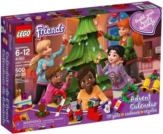 LEGO Friends Adventní kalendář 2018
